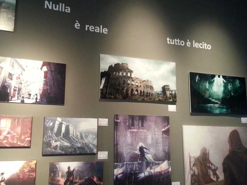 Contapersone installato presso la mostra Assassin Creed al MUST a Milano